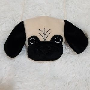 Birthday Express Girls Pug Head Puppy Purse